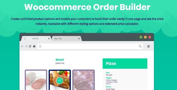WooCommerce Order Builder