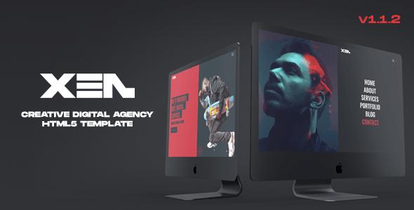 XEN - Creative Agency HTML5 Template