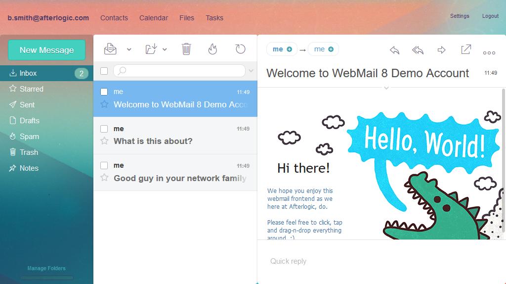 Afterlogic WebMail Pro PHP
