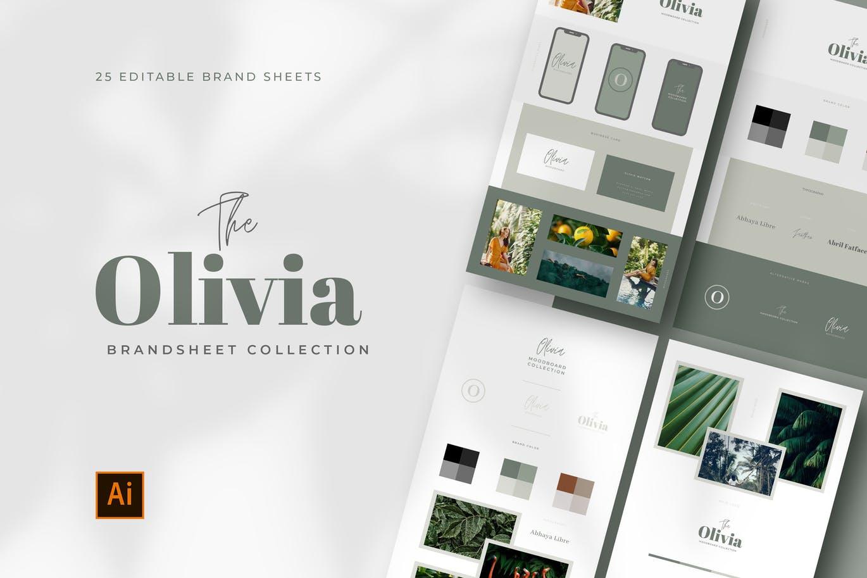 Brand Style Boards For Illustrator