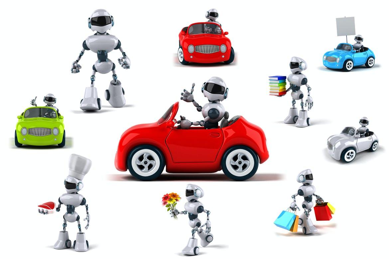 10 fun Robots !