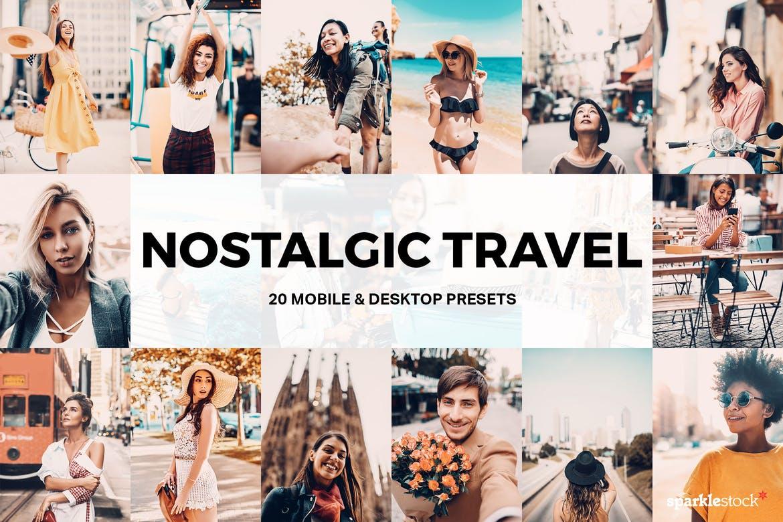 20 Nostalgic Travel Lightroom Presets and LUTs