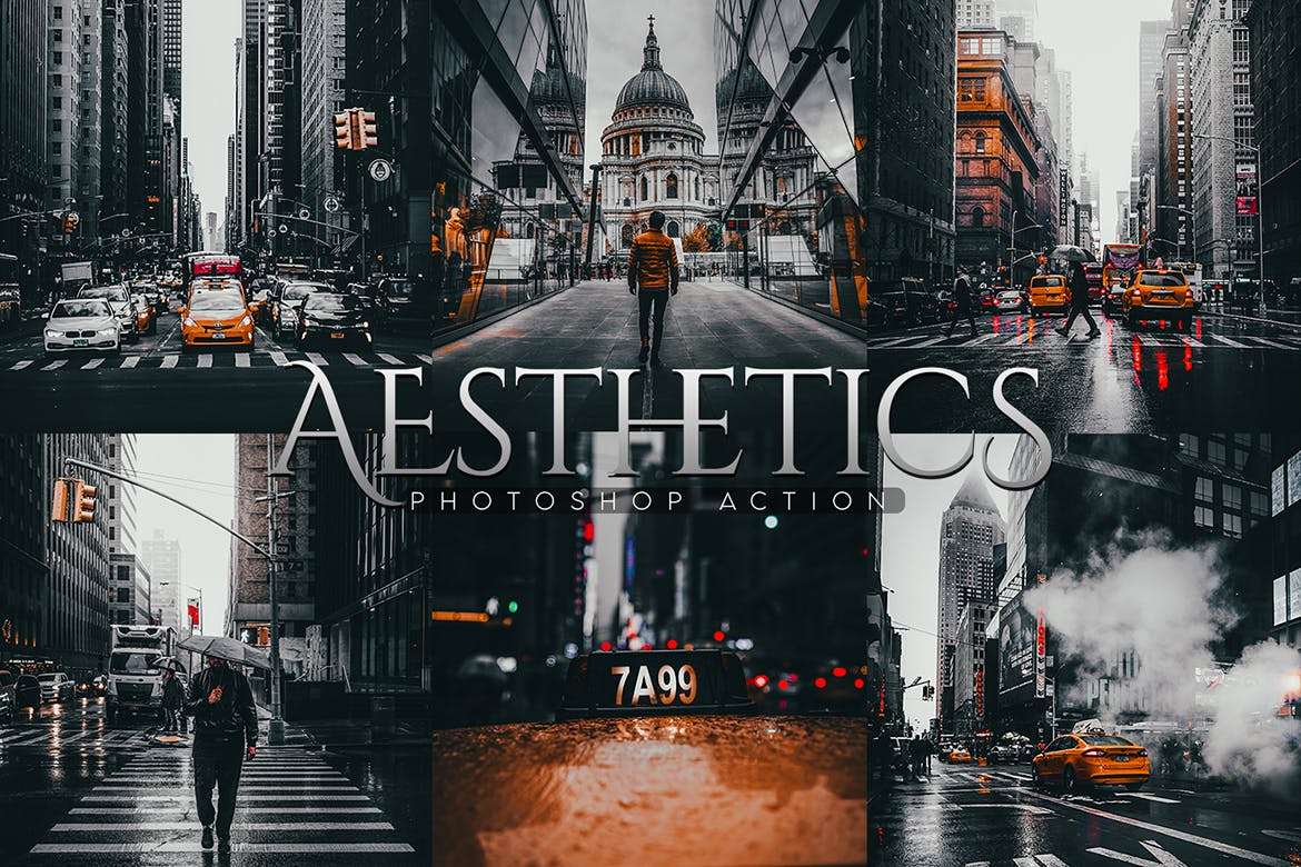 Aesthetics Photoshop Action