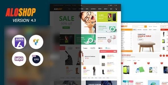 Alo Shop v4.1 - premium template for WordPress online store