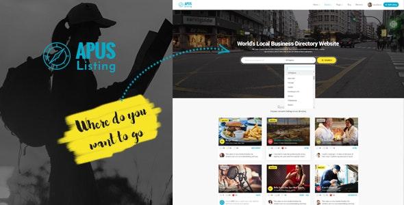 ApusListing - Directory Listing WordPress Theme