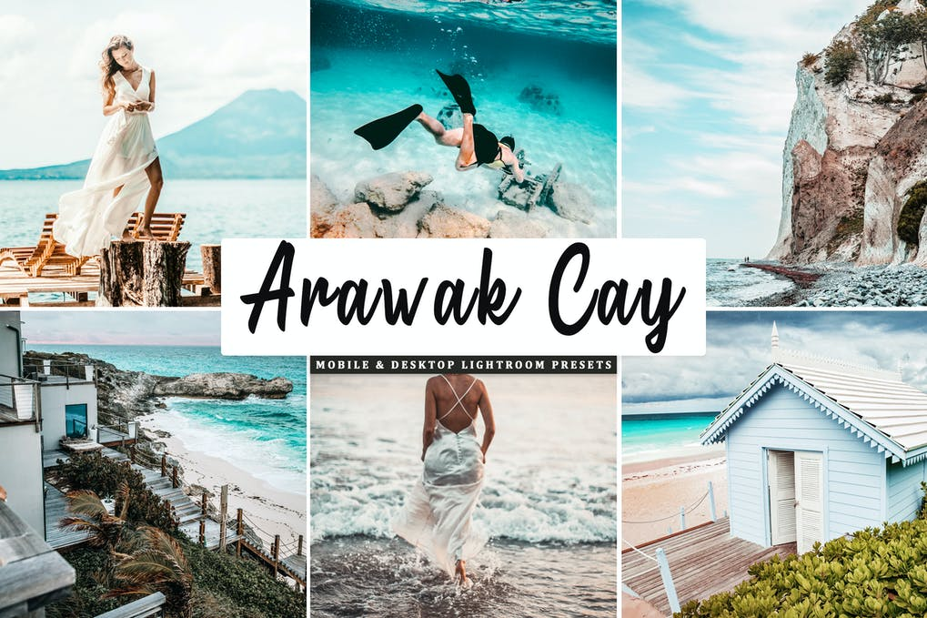 Arawak Cay Mobile & Desktop Lightroom Presets