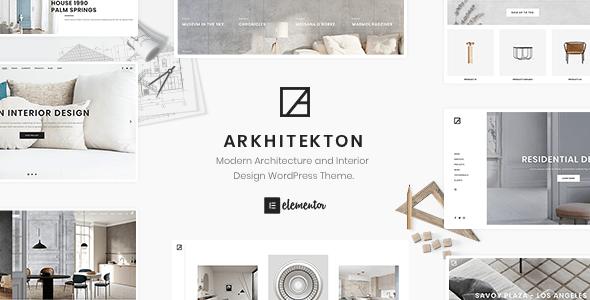 Arctecture - Interior Design WordPress Theme