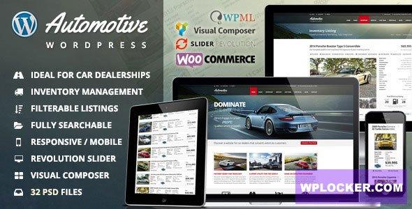 Automotive v11.9.2 NULLED - Automotive WordPress Template