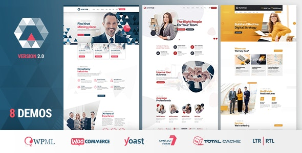 Avantage v1.0.8 - WP Business Theme