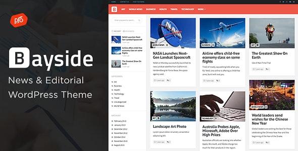 Bayside v2.0 - WP News Theme