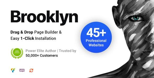 Brooklyn v4.9.5.4 NULLED - Creative Multipurpose WordPress Theme