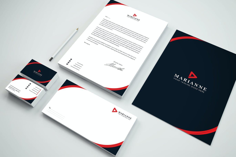 Business Branding Identity & Stationery Pack
