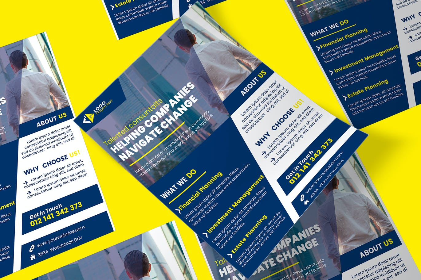 Business Poster PSD Template