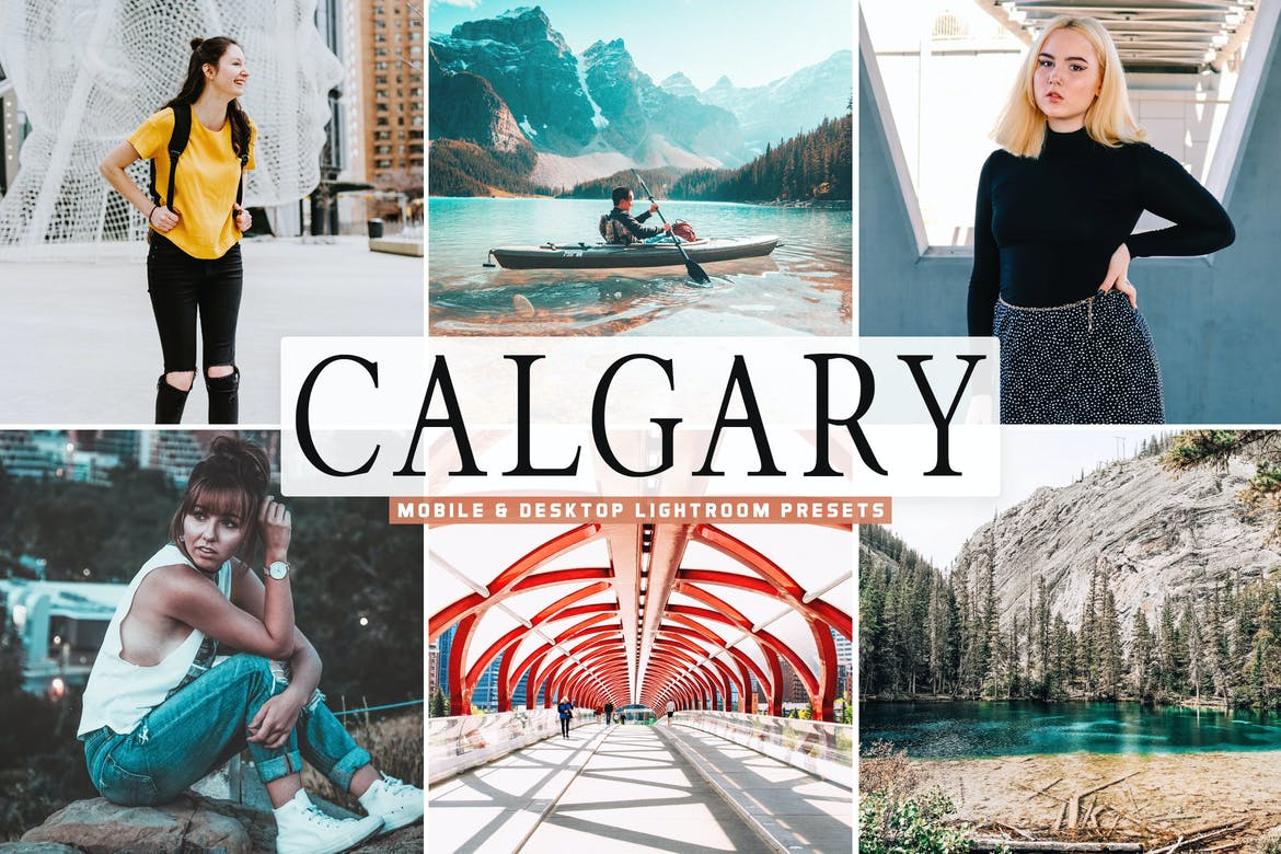 Calgary Mobile & Desktop Lightroom Presets