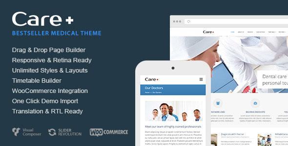 Care v4.7.1 - WordPress Template for Medical Websites