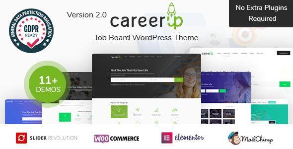 CareerUp v2.0.3 - WordPress vacancy portal template