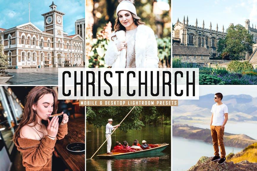Christchurch Mobile & Desktop Lightroom Presets