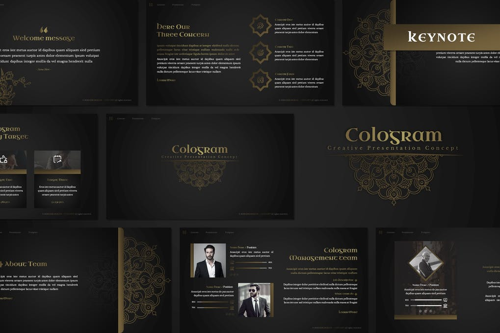 Cologram - Islamic Keynote Template