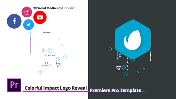 Colorful Impact Logo Reveal - For Premiere Pro