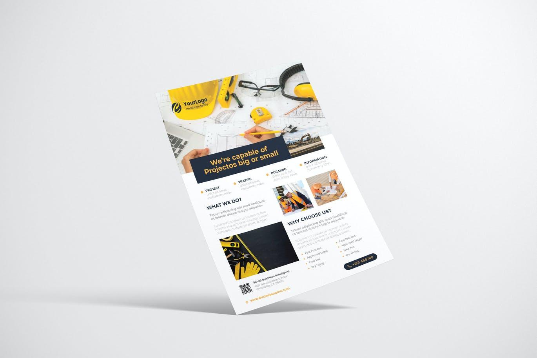 Contrction Flyer Design