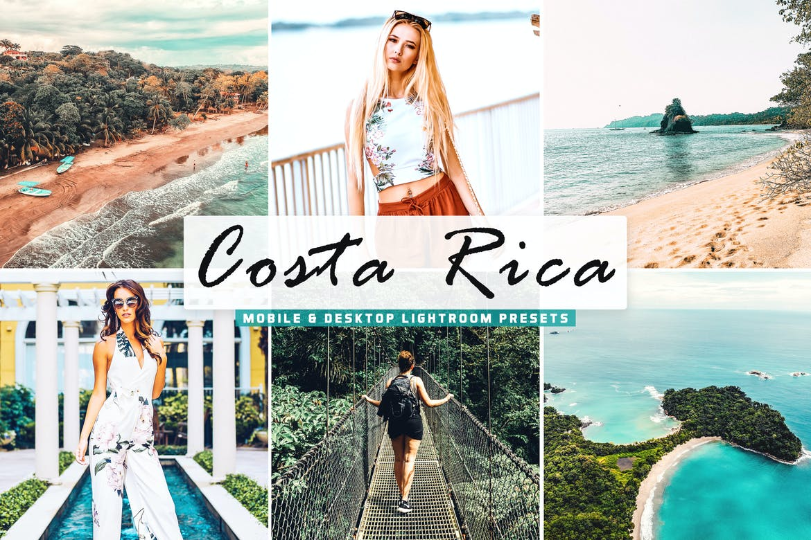 Costa Rica Mobile & Desktop Lightroom Presets