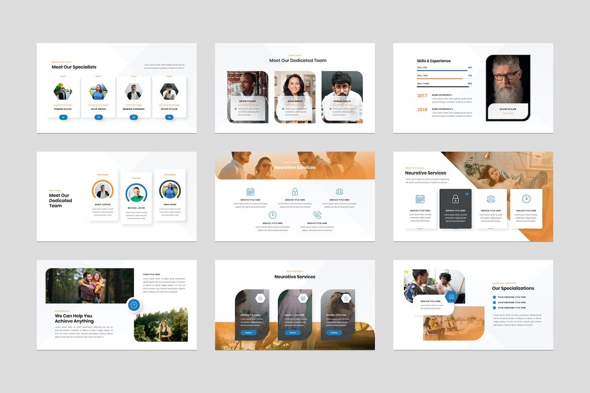 Counselling Psychology Office Keynote Template