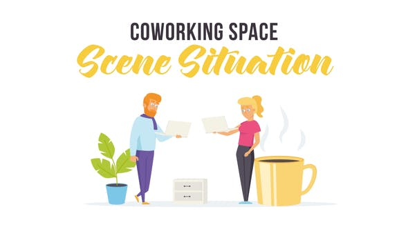 Coworking space - Scene Situation