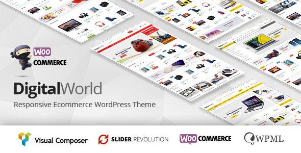 Digitalworld - Electronics & Multipurpose WooCommerce Theme