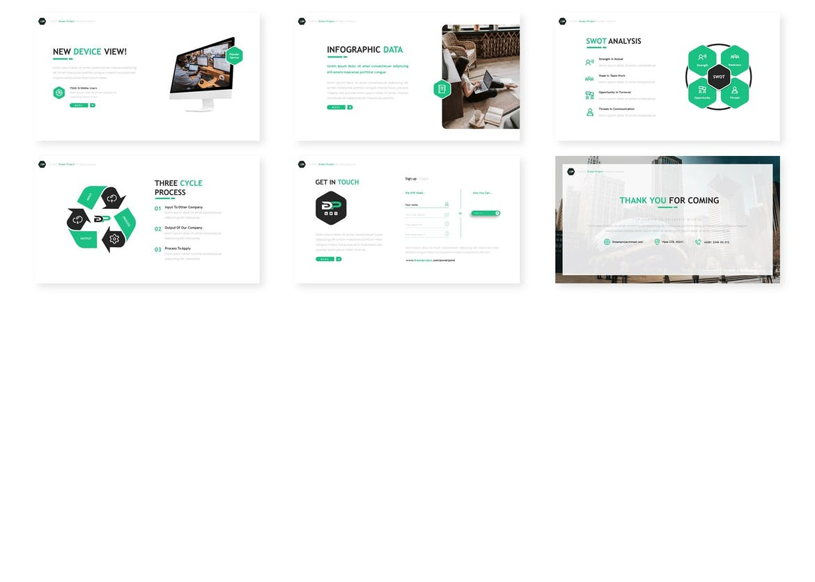 Dream Project - Business Kenyote Template