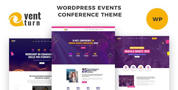 Exhibz - Event Conference WordPress Theme