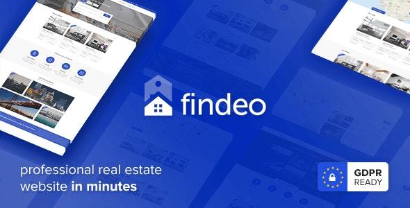 Findeo v1.2.42 - Real Estate WordPress Template