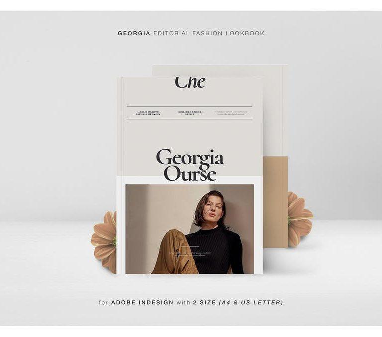 Georgia Editorial Fashion Lookbook