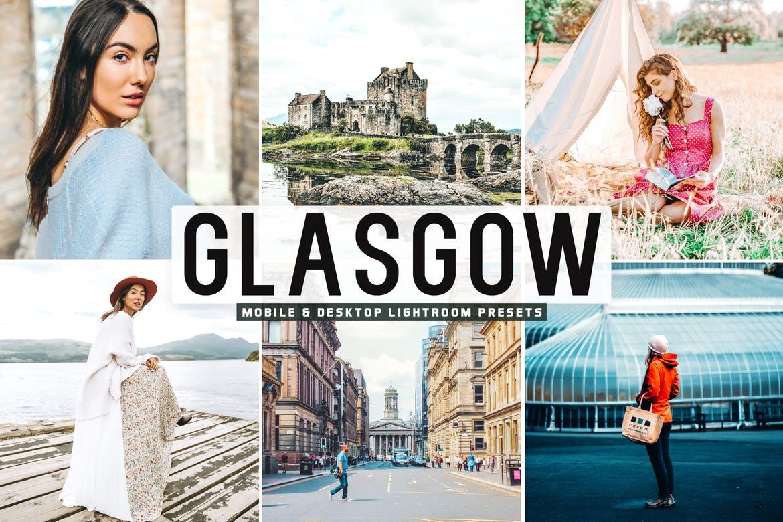 Glasgow Mobile & Desktop Lightroom Presets