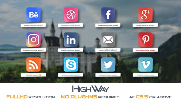 Glossy Social Icons Pack
