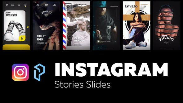 Instagram Stories Slides Vol. 5