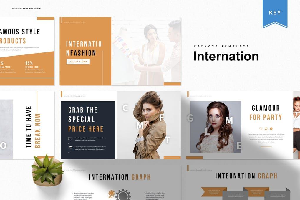 Internation   Keynote Template