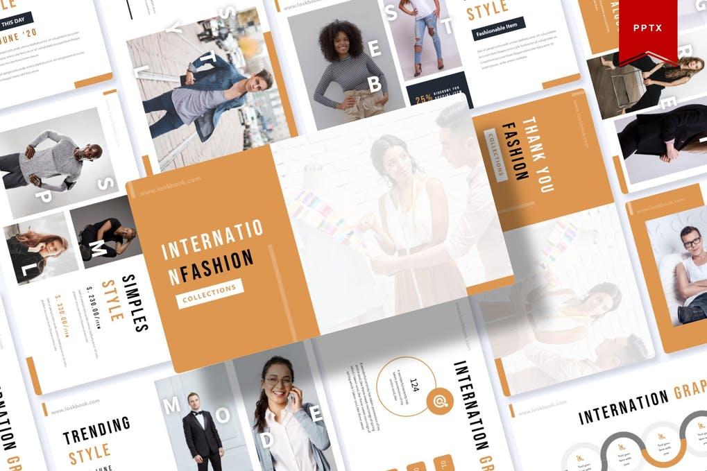 Internation   Powerpoint Template