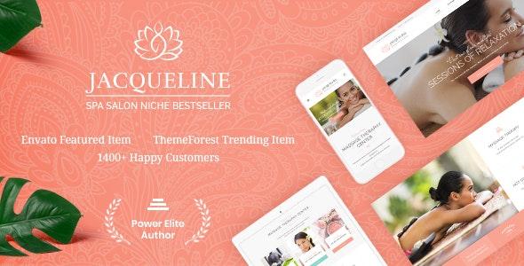 Jacqueline v1.6.1 - WordPress Beauty Salon Template