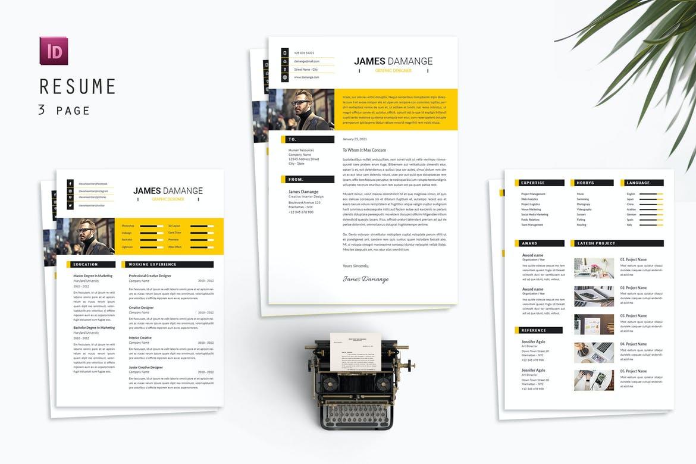 James Resume Designer