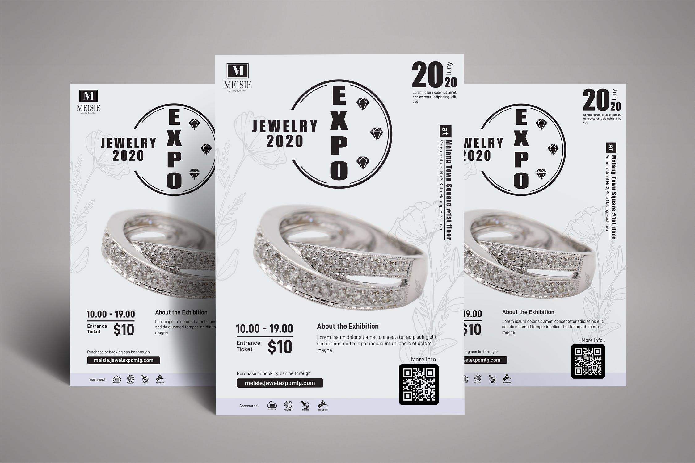 Jewelry Exhibition Poster