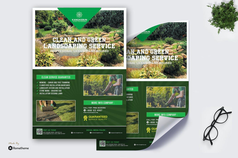 Kangkebun - Landscaping Service Poster HR
