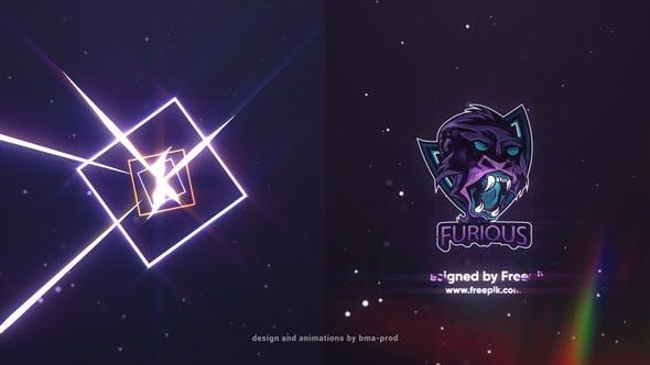 Light Streaks Logo Reveals