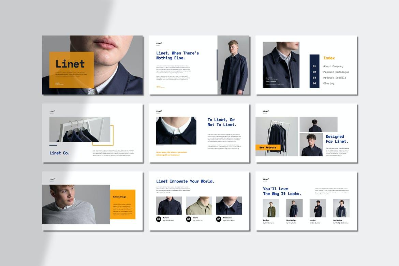 Linet Lookbook Presentation - Google Slides