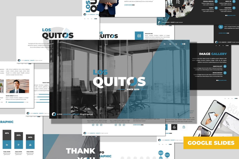 Los Quitos - Business Google Slides Template
