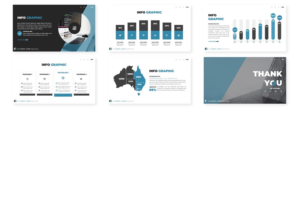 Los Quitos - Business Powerpoint Template