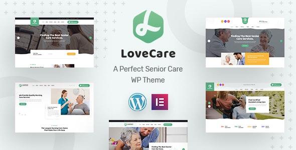 Lovecare - Senior Care WordPress Theme