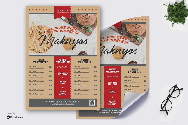 Maknyos - Menu Food Poster HR