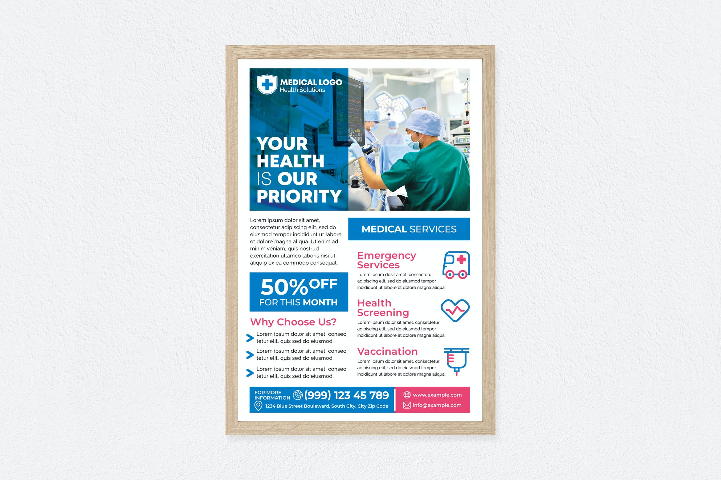 Medical Services Poster