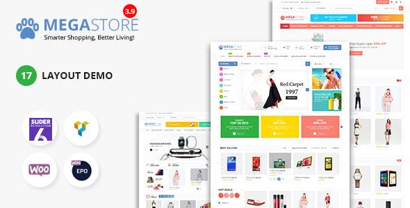 Mega Marketplace Store RTL Responsive WooCommerce WordPress Theme