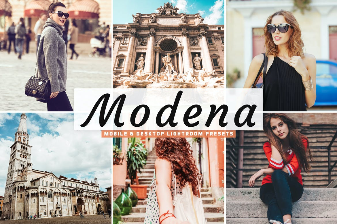 Modena Mobile & Desktop Lightroom Presets